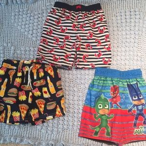 Boy's bathing suits